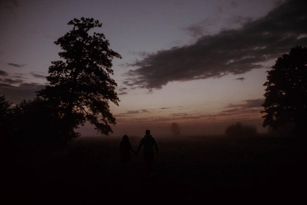 Sierpniowy wschód słońca